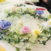 開花プリザーブドフラワー